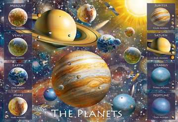 The Planets 100 pc XXL Puzzle