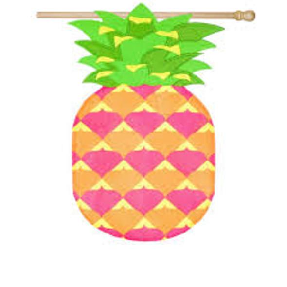 Pineapple Shaped House Flag