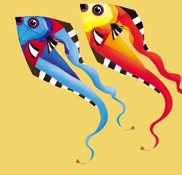 9ft Pyro Fish Delta Kite - Cool