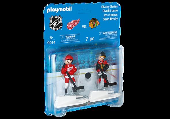NHL Detroit Red Wings vs Chicago Blackhawks - Playmobil