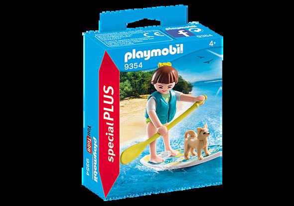 Paddleboarder Figurine