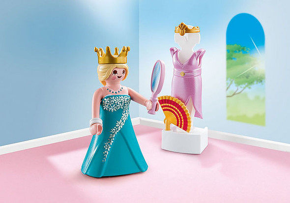 Princess with Mannequin Figurine