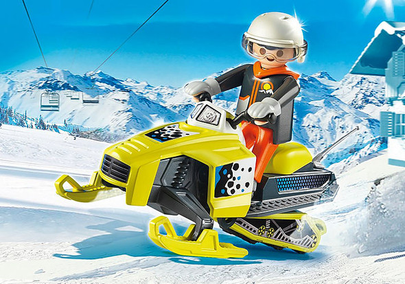 Snowmobile - Playmobil