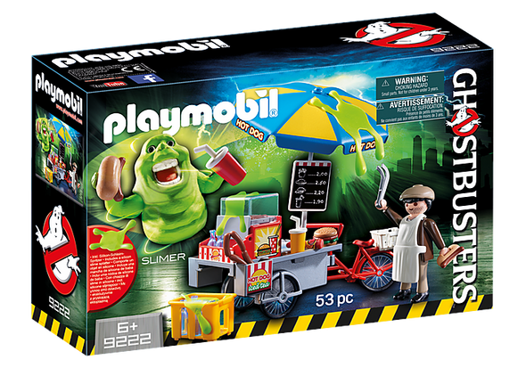 Slimer with Hot Dog Stand - Playmobil