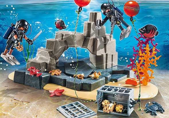 Tactical Dive Unit Super Set - Playmobil