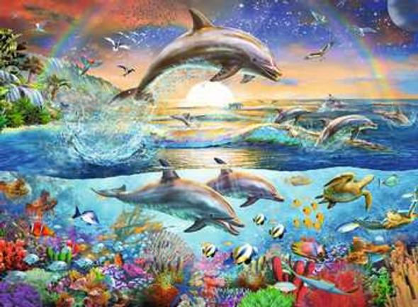 Dolphin Paradise 300 pc XXL Puzzle
