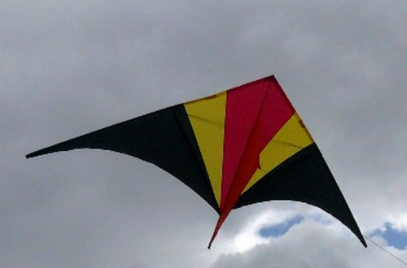 10 ft Falcon Delta Kite - Warm