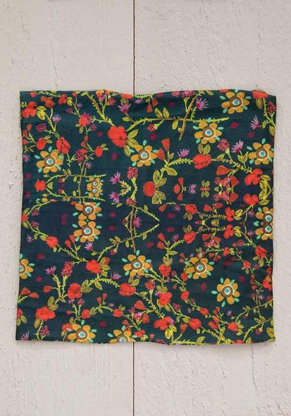 Forest Flowers Half Boho Bandeau