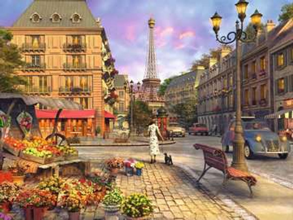 Vintage Paris  1500pc Puzzle