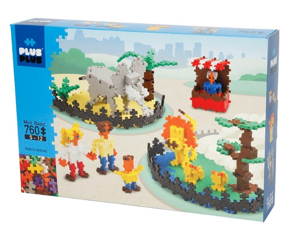 Plus Plus Zoo Set - 760 pc