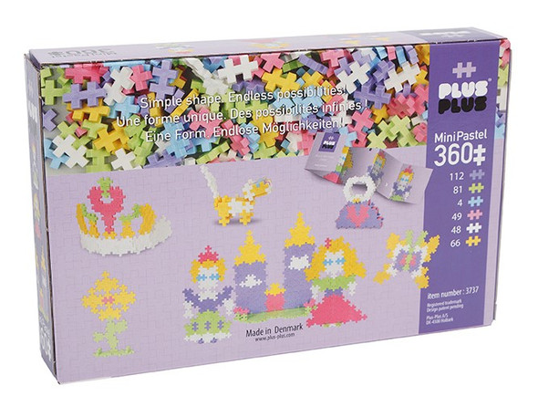 Plus Plus Princess Castle Set - 360 pc