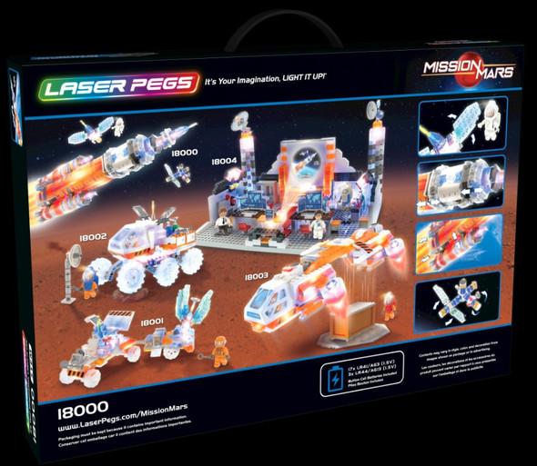 Laser Peg Mars Rocket