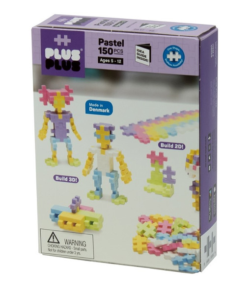 Plus Plus Pastel Set - 150 pc