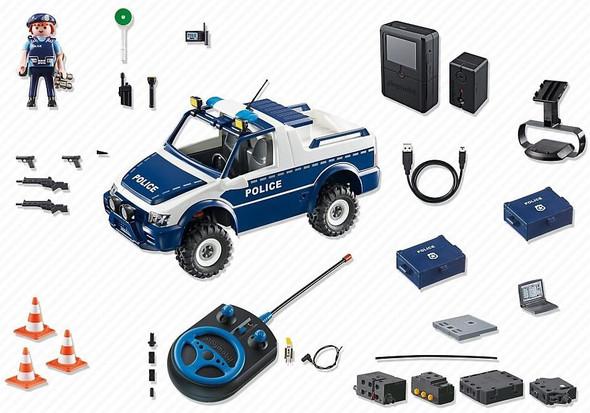 Playmobil RC Police Car w/ Camera