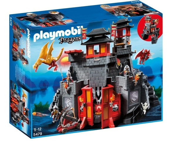 Playmobil Asian Dragon Castle