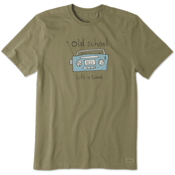 Old School Radio crusher tee