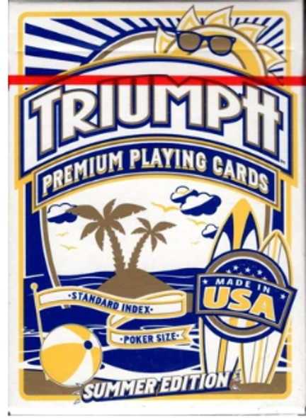 Triumph Summer Playing Cards
