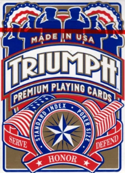Triumph Honor Playing Cards