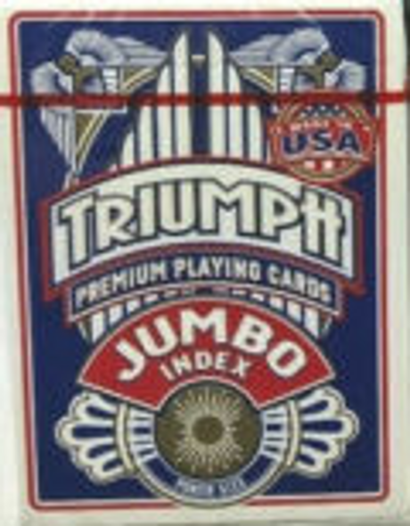 Triumph Jumbo Index Playing Cards