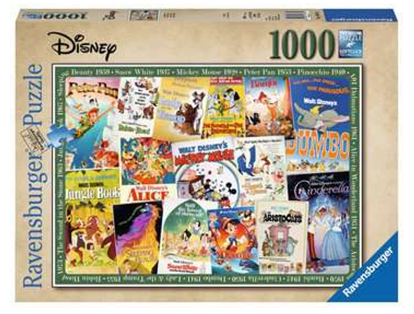 Disney Vintage Movie Poster 1000 pc Puzzle