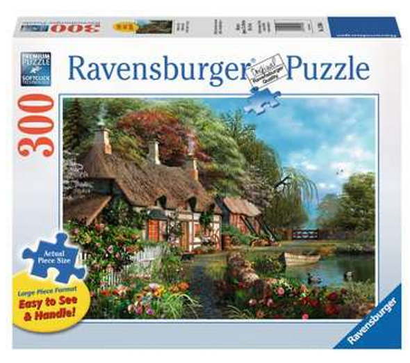 Cottage on a Lake 300pc Puzzle