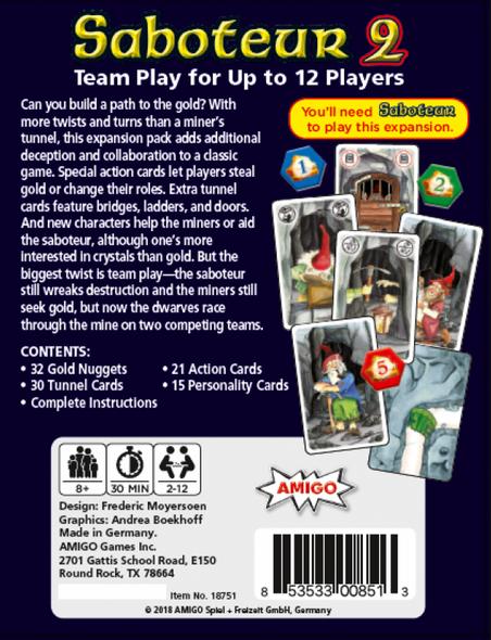 Saboteur 2 Game
