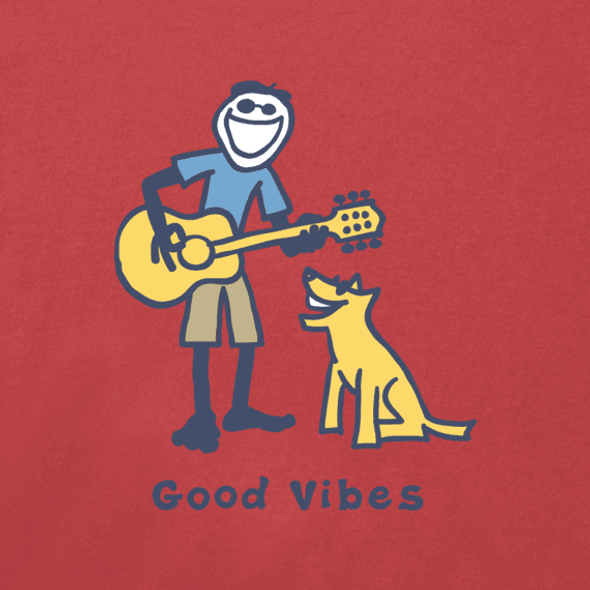 Guitar Jake Cool Vibes crusher tee