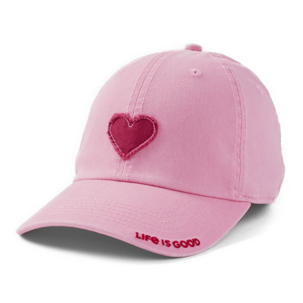 Kids Heart Chill cap in Happy Light Pink