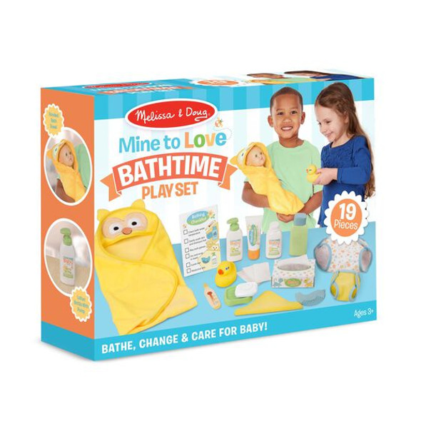 Bathtime Doll Play Set