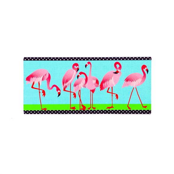 Flamingo Garden Sassafras Mat