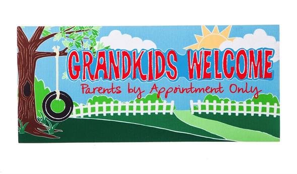 Grandkids Welcome Sassafras Mat
