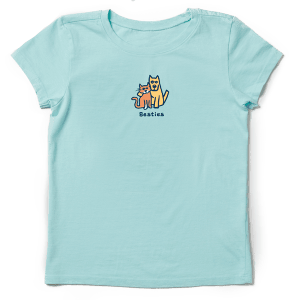 Besties Dog/Cat Girls tee