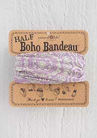 Lavender Cream Half Boho Bandeau