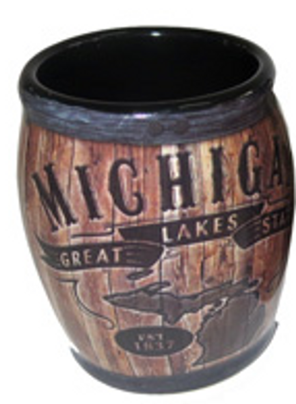 Michigan Barrel Shot Glass