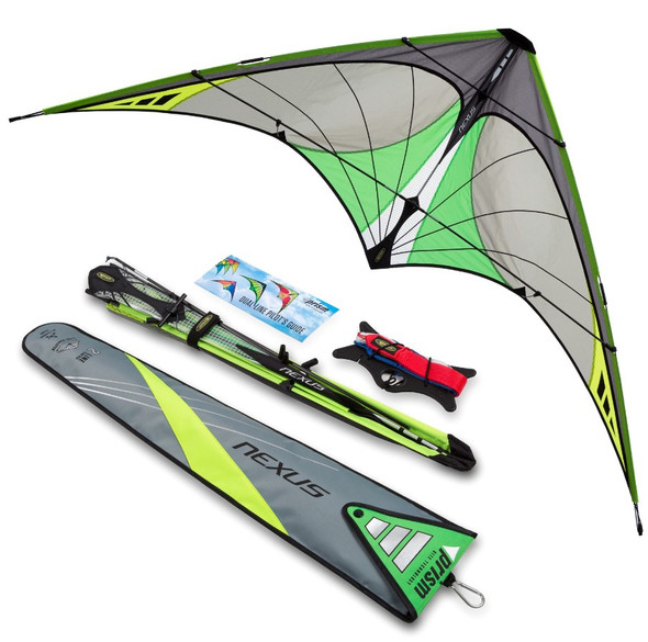 Nexus 2.0 Graphite Stunt Kite