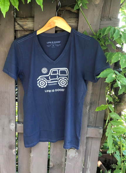 Off Road Jeep women's tee