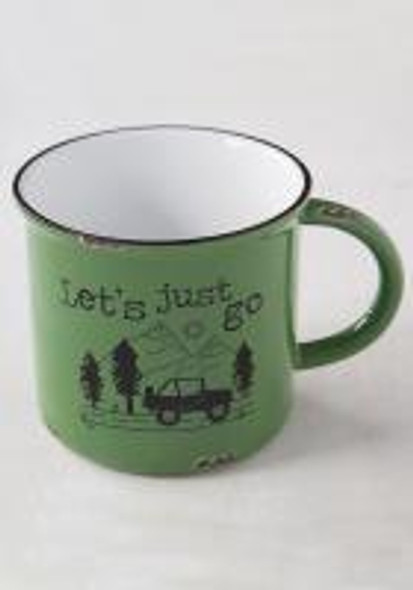 Just Go Camp Mug