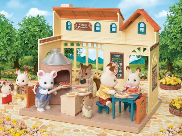 Calico Critters Village Pizzeria