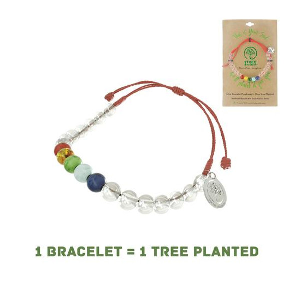 1 Tree Mission Maple bracelet - Red