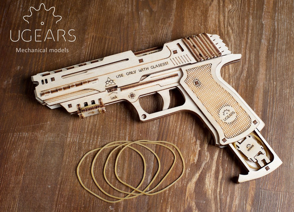 UGears: Rubber band Gun