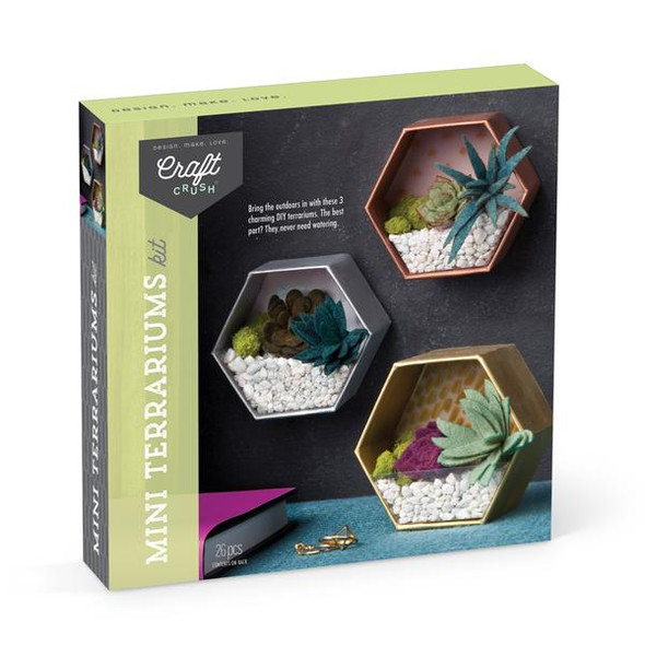 Mini Terrariums Kit