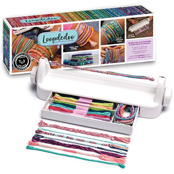 Loopdedoo Spinning Friendship Bracelet Maker