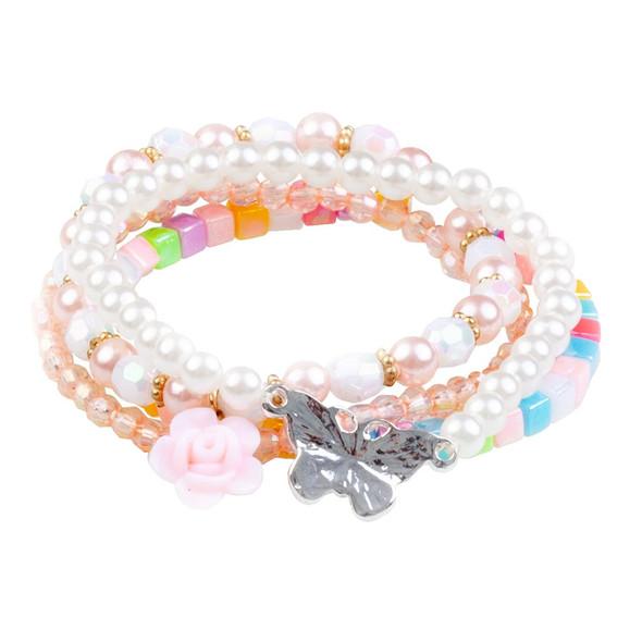 Pearly Butterfly Bracelet