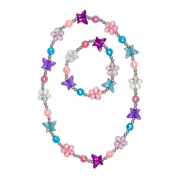 Flutter Me By Necklace and Bracelet Set