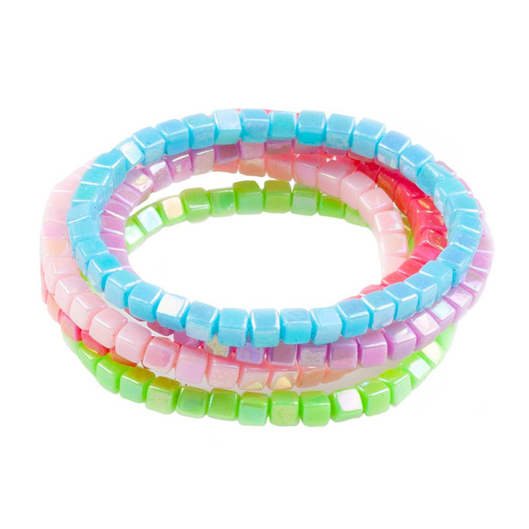 Tints and Tones Rainbow Bracelet Set