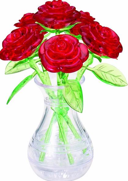 Original 3D Crystal Puzzle Roses