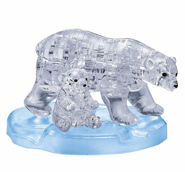 Original 3D Crystal Puzzle Polar Bear