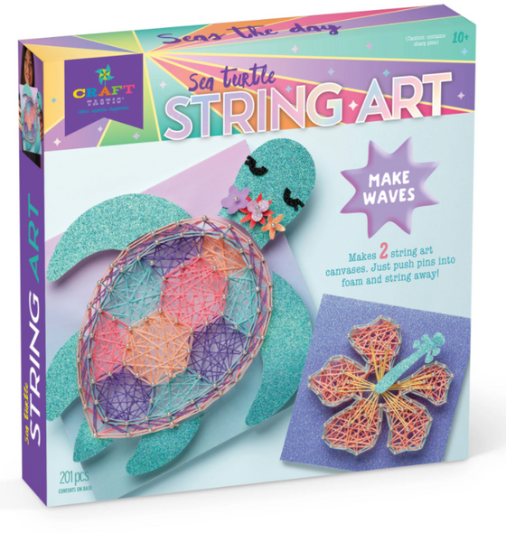 Sea Turtle String Art Kit