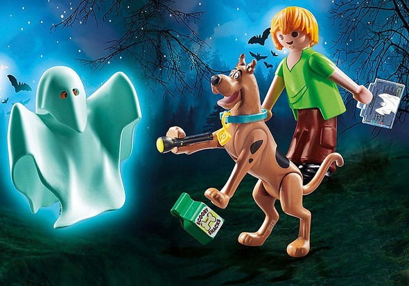 Scooby Doo and Shaggy with Ghost