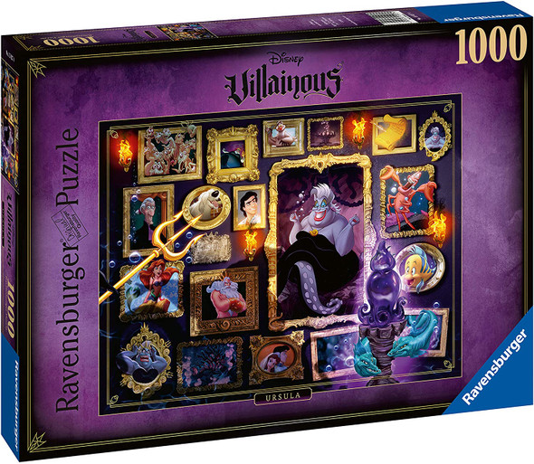 Disney Villainous Ursula 1000 pc Puzzle